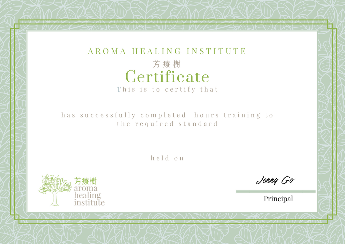 Naha Certified Professional Aromatherapist Course